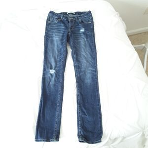 Girls Levis Distressed Jeans